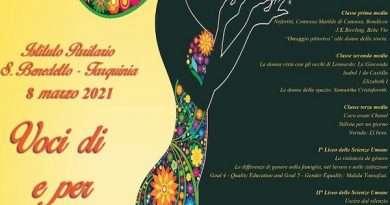 Voci di e per la donna: l'8 marzo dell'Istituto San Benedetto di Tarquinia