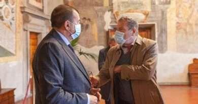 Il direttore generale dei Musei del Mibact Osanna a Tarquinia