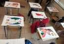 Vitorchiano, gli stendardi di San Michele realizzati dagli alunni