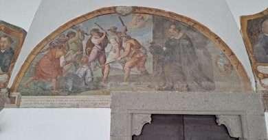 Fondazione Carivit. Visite gratuite al Cantiere di restauro delle 26 lunette dipinte del Chiostro della Basilica di Santa Maria della Quercia