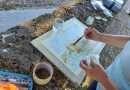3° appuntamento con le lezioni di disegno e pittura dal vero en plein air