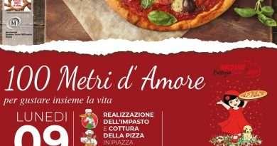 """Soriano nel Cimino, in arrivo la prima edizione di """"100 metri d'Amore per gustare insieme la Vita"""""""