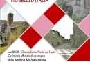 """Bassano in Teverina riceverà sabato la bandiera de """"I borghi più belli d'Italia"""""""