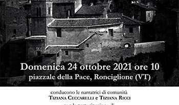 """"""" 'E CASE SBRACATE"""", passeggiata-racconto a Ronciglione"""