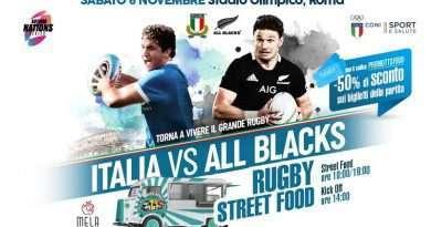 Gli Azzurri sfidano gli All Blacks, con TTSFOOD biglietti scontati al 50%
