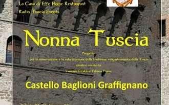 """""""Nonna Tuscia"""", sabato a Graffignano la presentazione del progetto"""