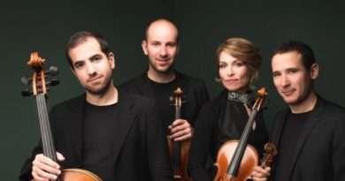 """Giacomo Menegardi, Enrico Bronzi e il quartetto d'archi Noûs al festival """"I Bemolli sono blu-Viterbo in musica"""""""